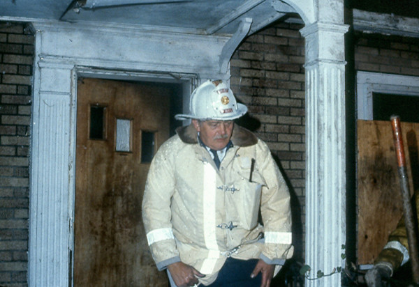 Prospect Heights FPD Fire Chief Donald Gould SR