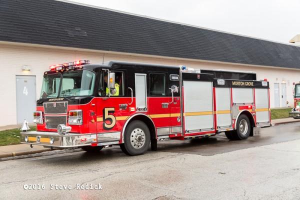 Morton Grove FD fire engine