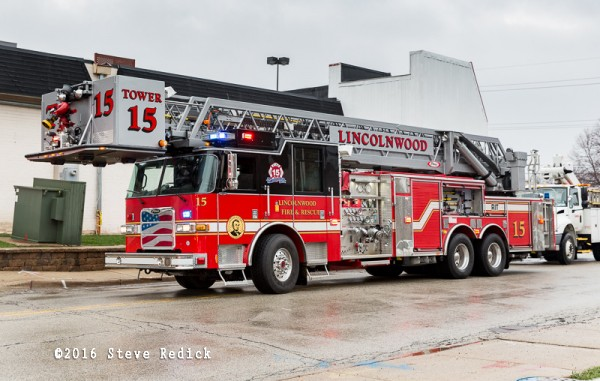 Lincolnwood FD fire truck
