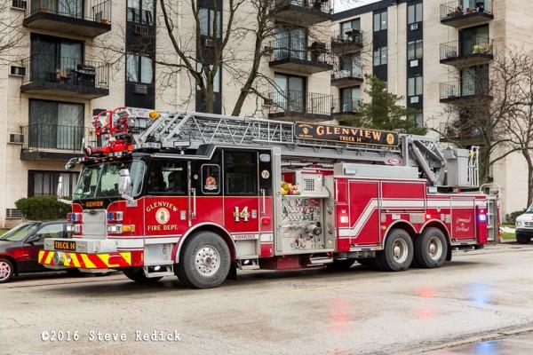 Glenview FD fire truck