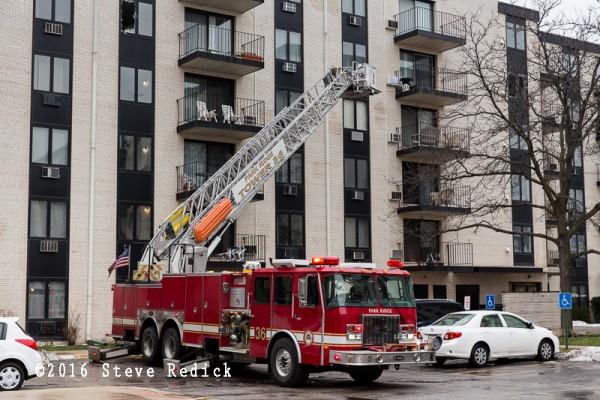 Park Ridge FD fire truck