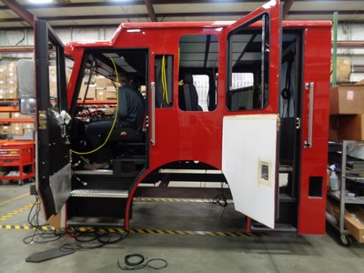 New fire engine being built