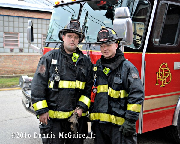 Calumet Park firefighters