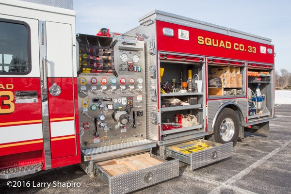 SpartanERV fire engine Highland Park FD