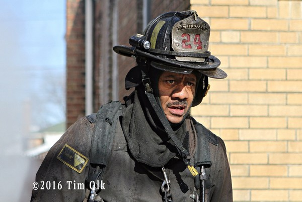 Chicago FD Lieutenant