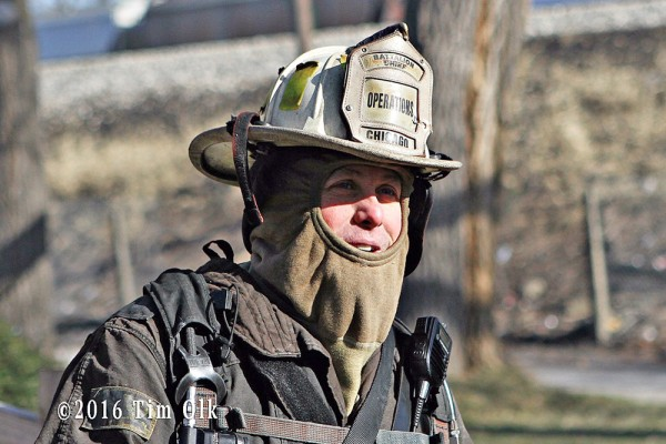 Chicago FD Battalion Chief
