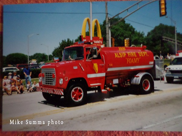 Alsip Fire Department history