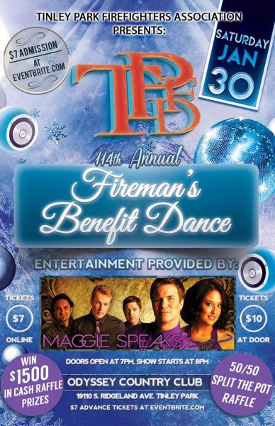 Tinley Park Annual Firefighter's Benefit Dance