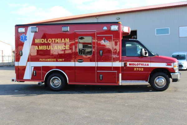 Midlothian Fire Department ambulance