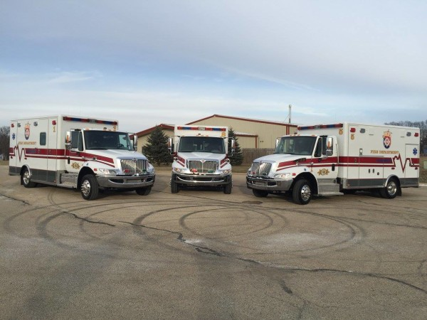Joliet FD ambulances