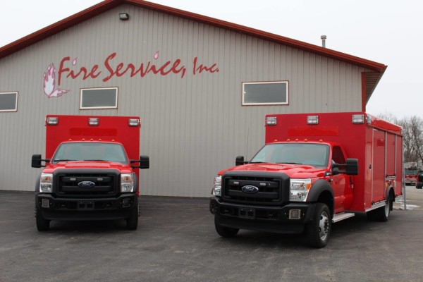 New air mask service trucks for Chicago FD