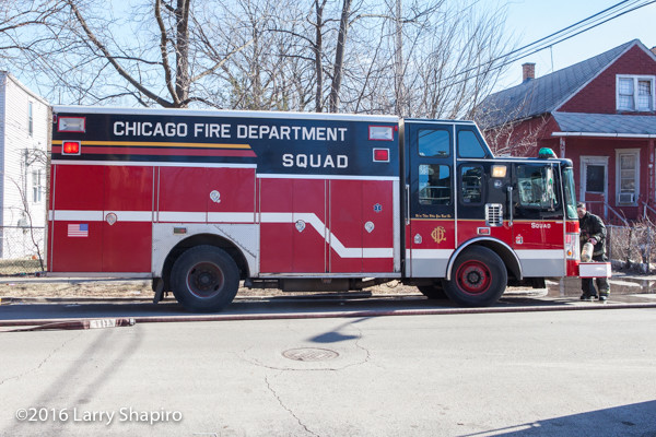 Chicago FD spare squad