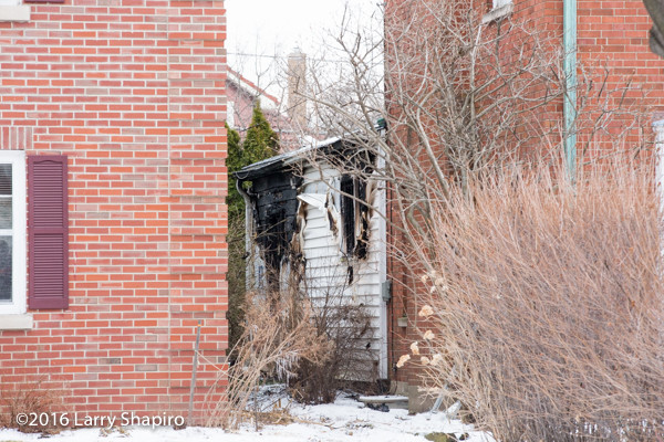 damage from Park Ridge IL house fire