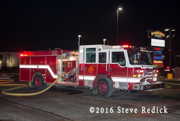 Melrose Park fire engine