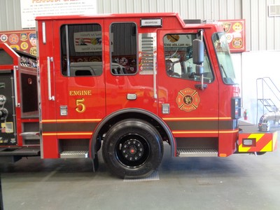 new fire engine for the West Chicago FPD