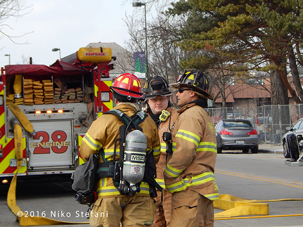 Highland Park firefighters