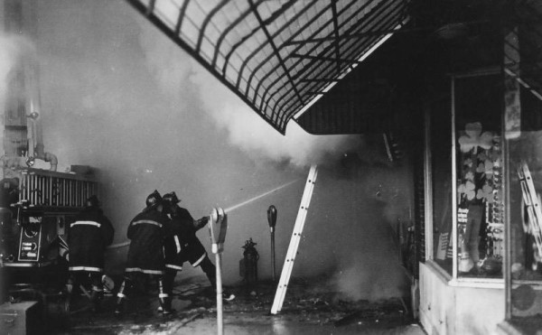 The Ben Franklin store fire killed three Palatine firefighters.