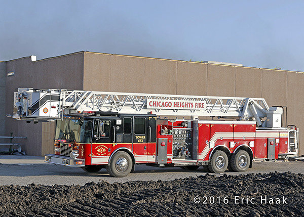Chicago Heights FD fire truck