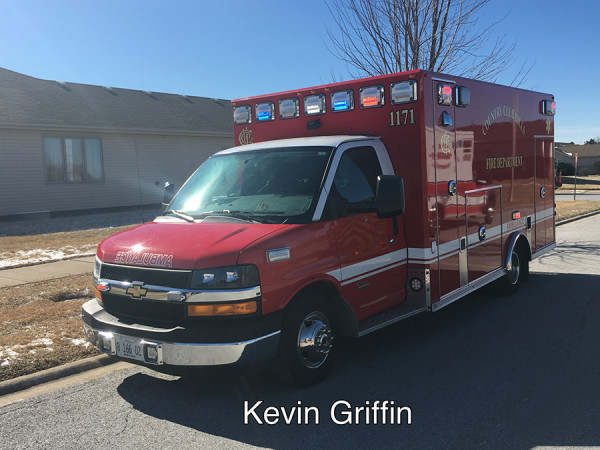 Country Club Hills FD Ambulance 1171