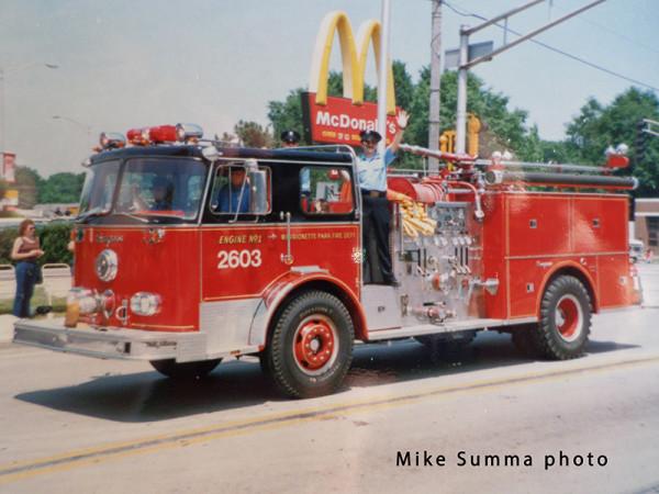 Merrionette Park FD history