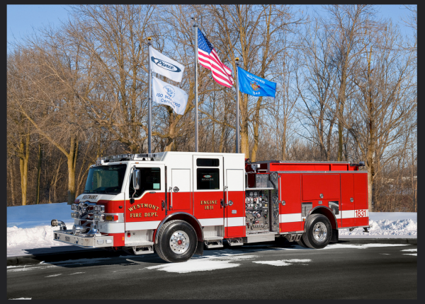 New fire engine for the Westmont FD