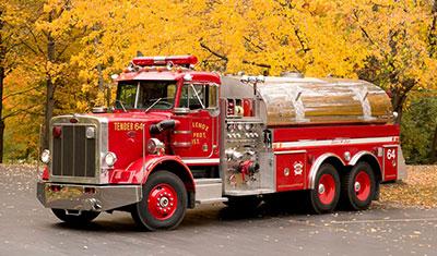 Peterbilt fire truck