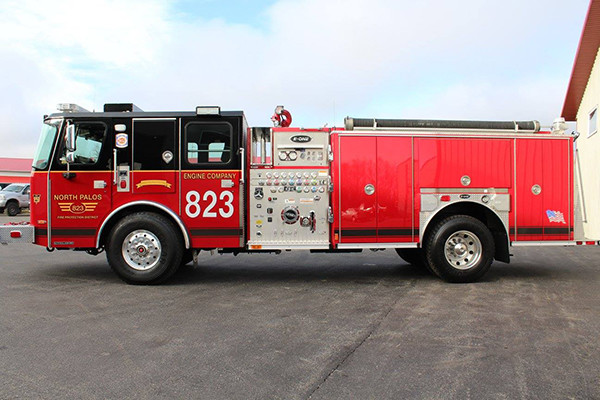 New fire engine for the North Palos FPD