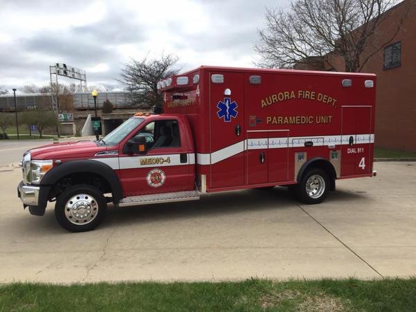 Aurora FD Medic 4 ambulance