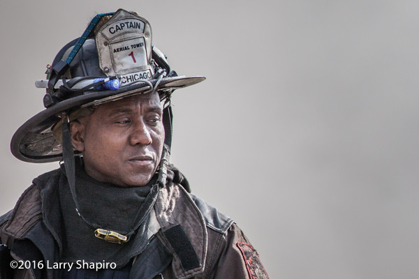 Chicago FD African American captain