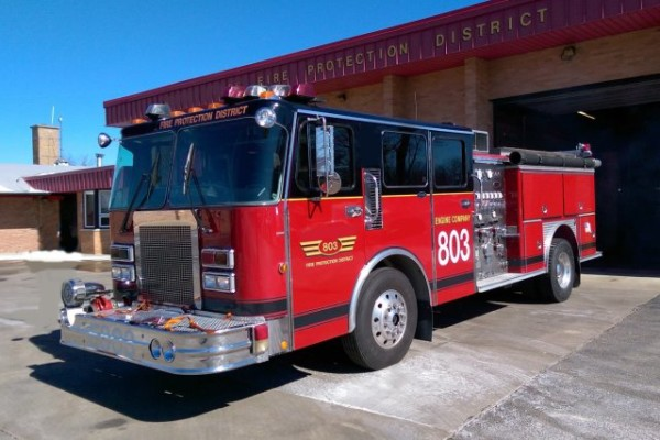 North Palos Engine 803 for sale - 1988 Spartan/E-ONE.