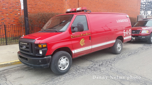 Chicago FD van