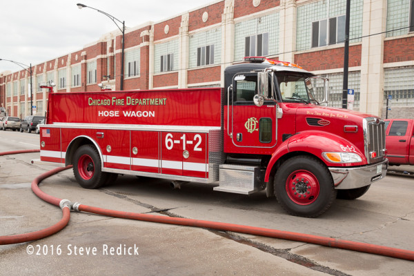 Chicago FD Hose Wagon 6-1-2