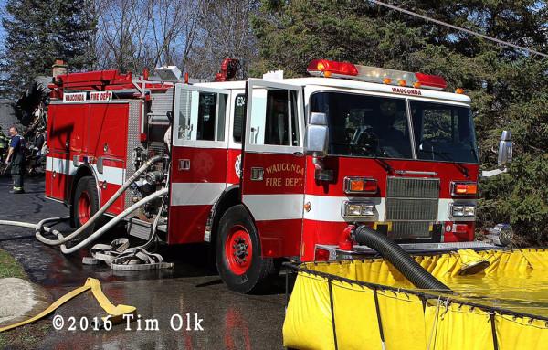 Wauconda FD fire engine