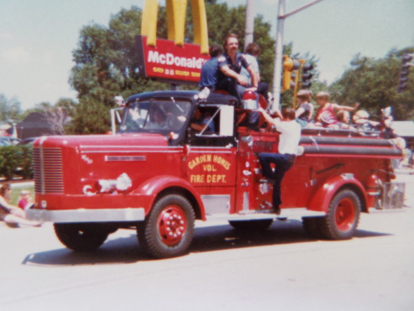 conventional FWD fire engine