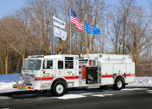 new fire engine for the Somonauk Fire Department