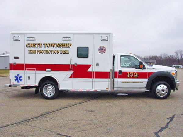 Crete Township FPD ambulance