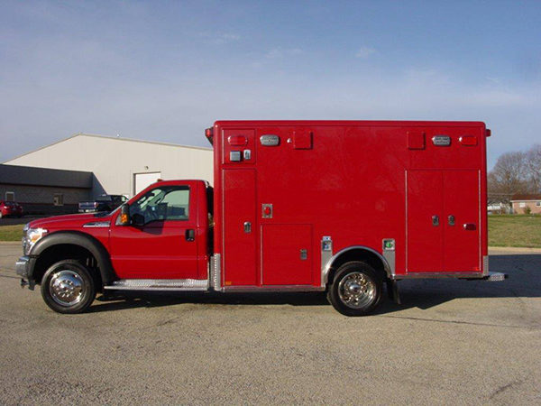 new ambulance for the Lombard FD