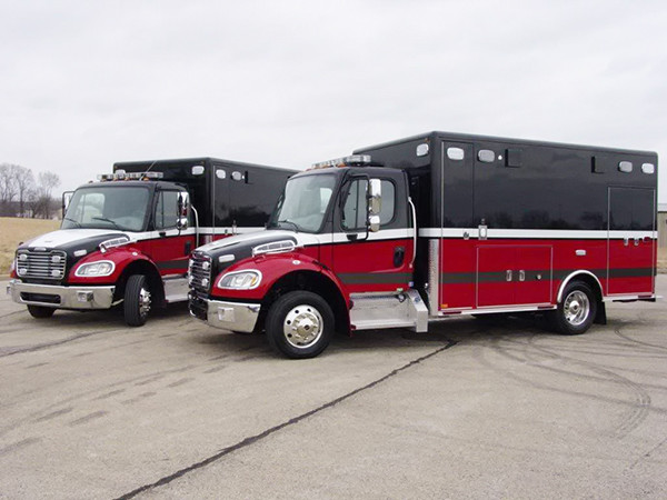 new Streamwood FD ambulances