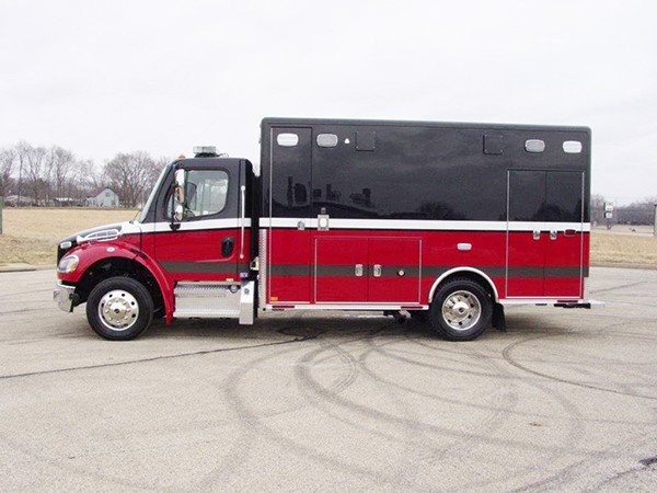 new Streamwood FD ambulance