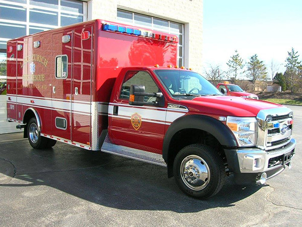 new Lake Zurich FD ambulance