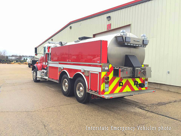 new fire truck for the Crystal Lake FPD in Illinois