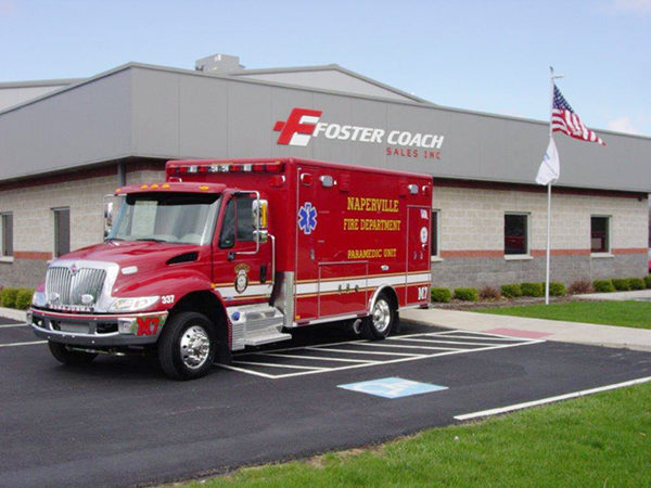 New ambulance for naperville for Department of motor vehicles joliet illinois