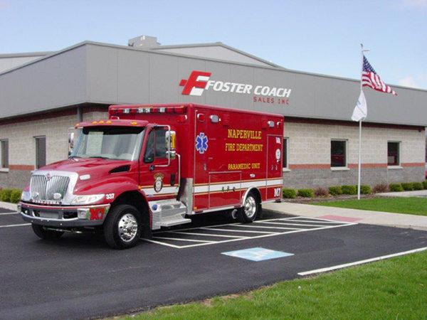 Naperville FD Ambulance M7