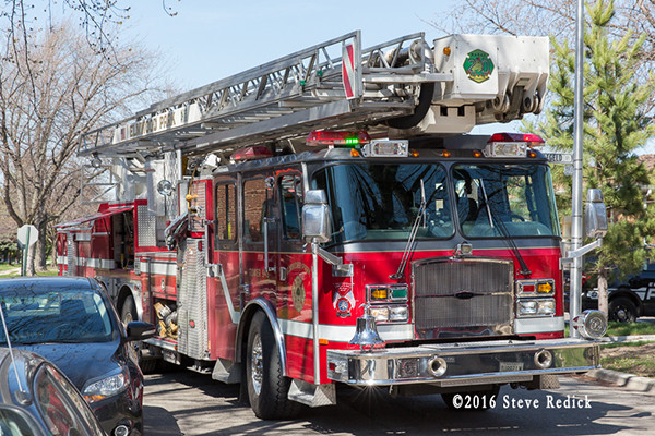Elmwood Park fire truck