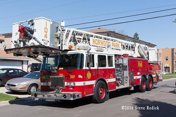 Norwood Park fire truck