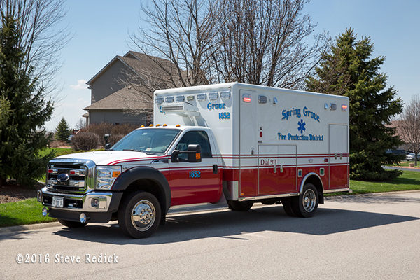 Spring Grove Fire Department ambulance
