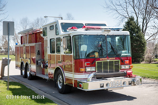 Spring Grove Fire Department tanker