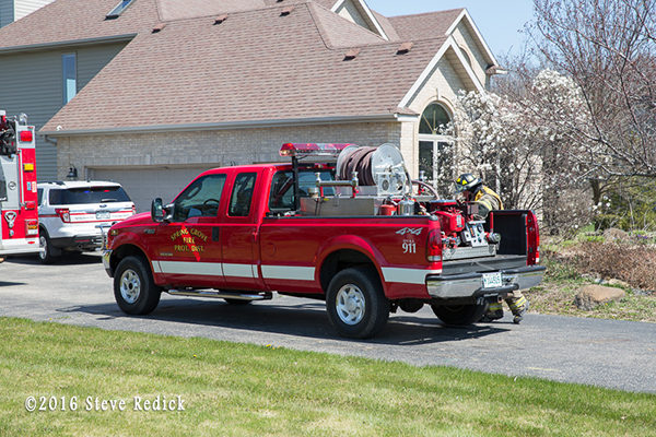 Spring Grove Fire Department brush truck