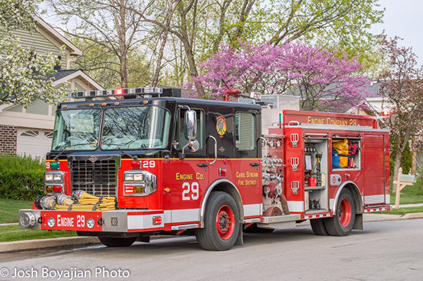Carol Stream Fire District Engine 28