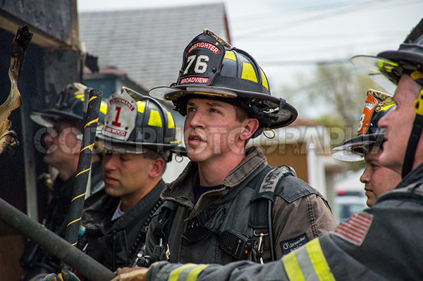 Broadview firefighter
